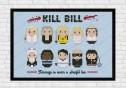 kill bill cross stitch pattern