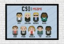 csi miami cross stitch pattern