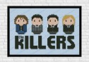 the killers cross stitch pattern
