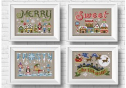 It's a sweet wor(l)d - Christmas theme - 3 + 1 for free!