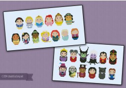 Princesses and Villains bundle - Save 7%