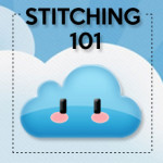 Stitching 101, aka learn to cross stitch in 3 steps!